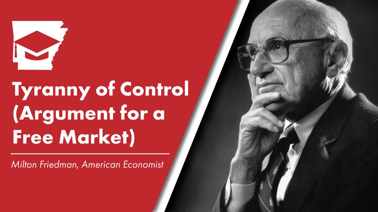 Tyranny of Control (Argument for a Free Market)